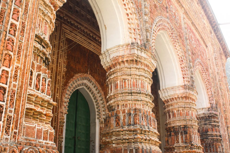 Terracotta work of Shat Gambuj Mosque in Bagerhat in Bangladesh. A must visit place to go in Bangladesh
